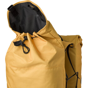AGU Urban DWR Double Pannier Bag MIK, yellow